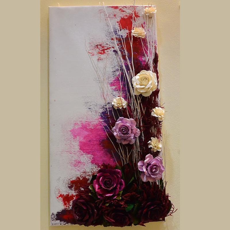 Tranh hoa 3D - mẫu 4