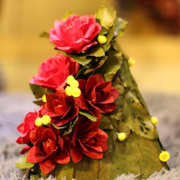Các cách làm đẹp ngôi nhà bằng hoa khô trang trí