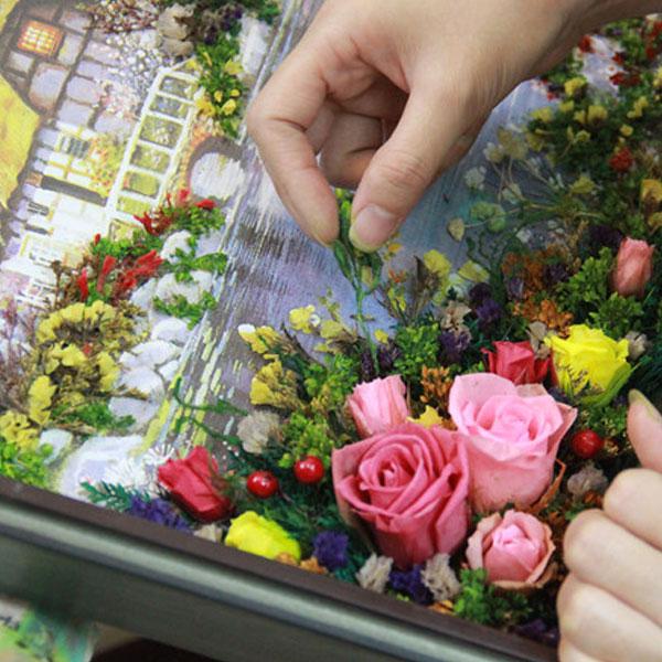 10 triệu đồng một bức tranh 3D hoa khô theo yêu cầu