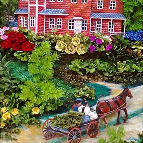 Tranh hoa 3D magic ảo diệu nhất