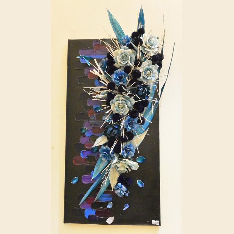 Tranh hoa 3D - mẫu 5