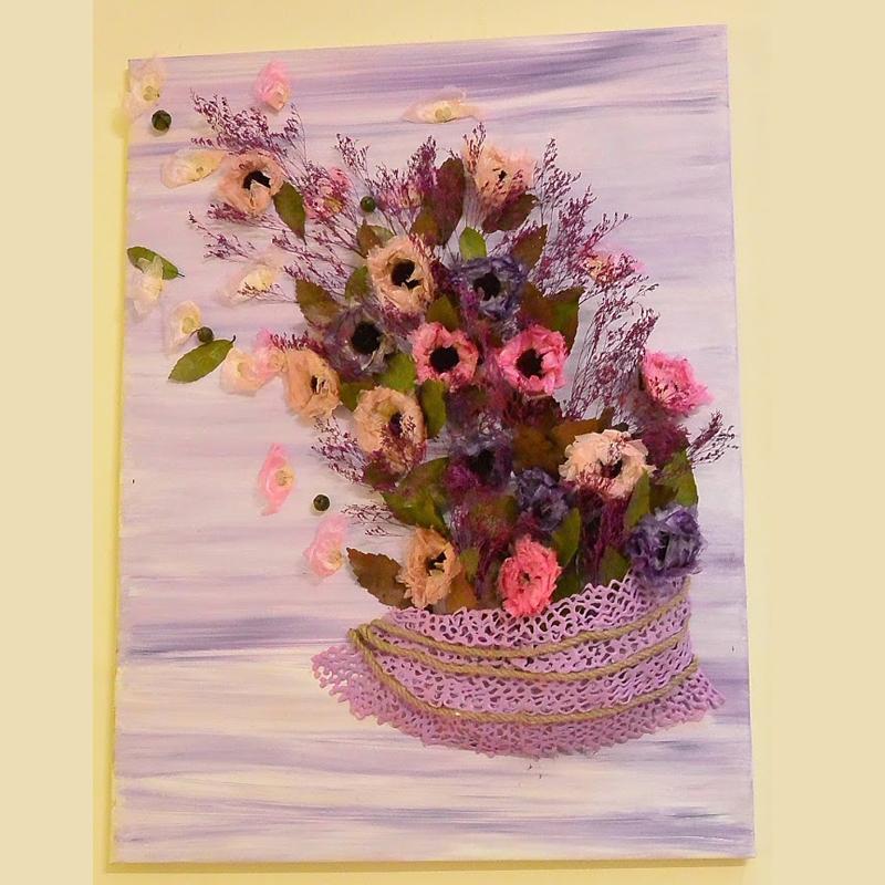 Tranh hoa 3D - mẫu 10