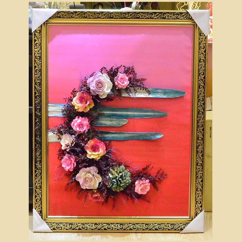 Tranh hoa 3D - mẫu 12