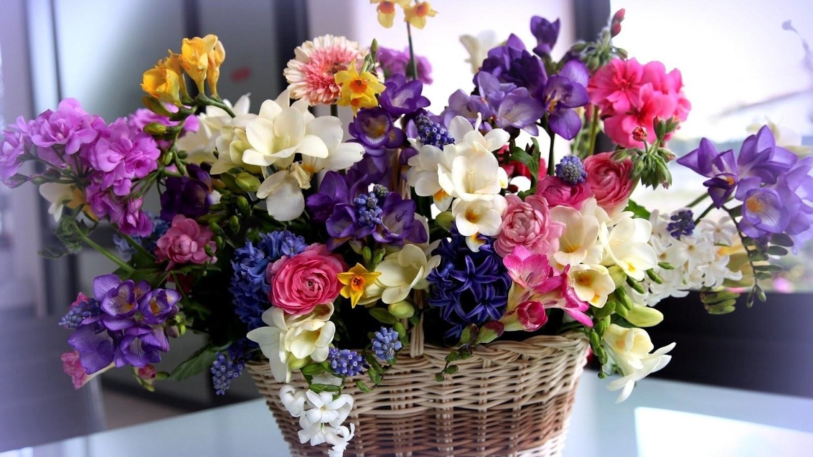 hoa trang trí nhà