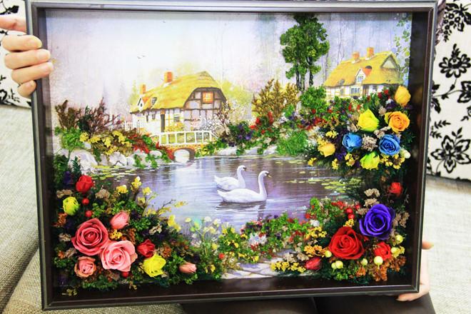 tranh 3d hoa kho